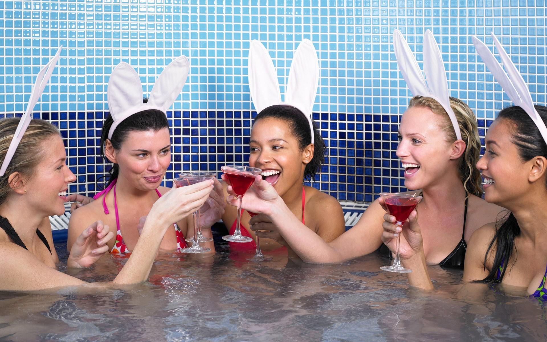 Русские фото девичник в бане 9 фотография