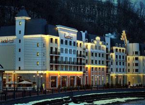 иностранцы в российских отелях