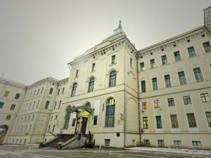 гостиница на месте военной академии